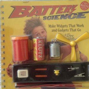Klutz Battery Science Kit & Book for Children